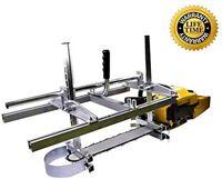 "Chain Saw Mill 14""-36"" Wood Timber Carpenter Lumber Cutting Machine Light weight"