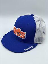 NEW Cleveland Cavaliers Cavs Blue Mitchell & Ness NBA Retro Mesh Snapback Hat