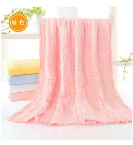Throws 100% cotton bath towel Super soft quilt blanket six layers gauze blanket