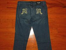 Rock & Republic Straight Leg Blue Jeans - STELLA - Women Size 27 - GREAT!