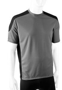 Aero Tech Mens Rowdy Mountain Bike T-Shirt Wicking, Loose Fitting *Made in USA*