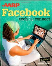 AARP Facebook SIGNED Book Marsha Collier For Dummies Seniors Tech to Connect