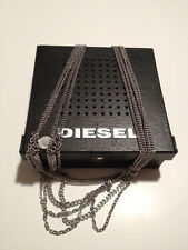 DIESEL new ladies stainless steel multi link necklace.DX-0411.cheapest on ebay