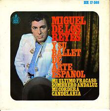 EP MIGUEL DE LOS REYES y su BALLET de ARTE ESPAÑOL mi cordera SPAIN 1966