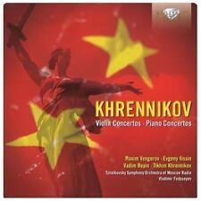 Tikhon Khrennikov Concertos pour piano - Concertos pour violon, New Music