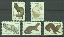 Russia Stamps 1980 Fur Animals complete set MNH