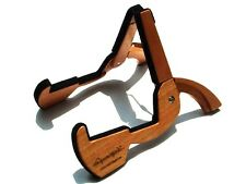 Cooperstand Pro G Folding Wooden Guitar Stand - solid African Sapele hardwood