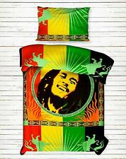 Bob Marley Twin Duvet Cover With 1 Pillow Cover Bedcover Cotton Fabric Ethnic