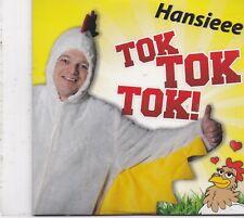 Hansieee-Tok Tok Tok cd single Sealed New