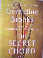 Geraldine Brooks - Signed - The Secret Chord (Pulitzer Author, 1st/1st, 2015)
