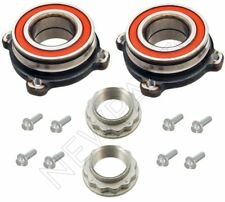 For BMW E39 E60 Pair Set Of Rear Left or Right Wheel Bearing & Bolts w/ Nut Kit