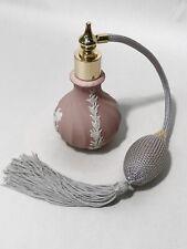 Wedgwood Pink Jasperware Perfume Atomiser - FLT