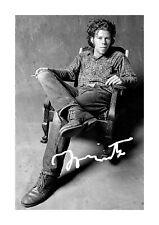 Tom Waits 3 A4 reproduction autograph poster with choice of frame