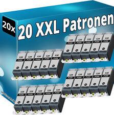 20x TINTE PATRONEN für CANON PIXMA MP540 MP550 MP560 MP620 MP630 MP640 PGI-520