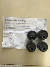 2 Degree offset castor bushes suit GQ GU Nissan Patrol Caster Wagon and Ute