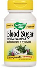 Nature's Way Blood Sugar with Gymnema Capsules 90 Count
