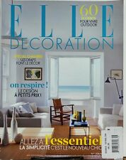 Elle Decoration France May 2014 Special Chambre Les Draps Decor FREE SHIPPING sb