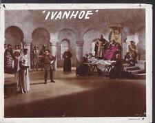 Robert Taylor Elizabeth Taylor Ivanhoe 1952 original movie photo 19761