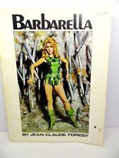 BARBARELLA by JEAN-CLAUDE - 1968 JANE FONDA MOVIE COMIC BOOK - NEAR FINE