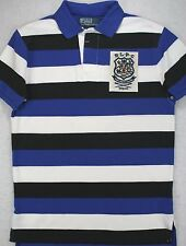Polo Ralph Lauren Rugby Custom Fit Crest Stripe Shirt Size S Small NWT $98
