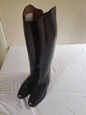 Konig long leather riding boots uk 6  black