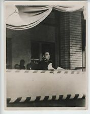 1935 HIROHITO VINTAGE ORIGINAL PHOTO BATTLE OF JAPAN IN NAVAL UNIFORM RARE