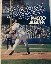 Dodgers Photo Album 1977 Baseball Cey, Lopes, Lasorda, Baker, Garvey MLB