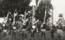 1934 Vintage Bismarck Archipelago ~ Native Tribal Dance Mask Costume Photo Art