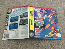 NES NINTENDO CAPTAIN AMERICA AND THE AVENGERS * BOX ONLY *