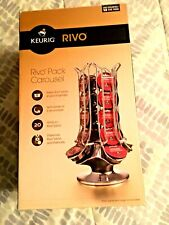 "Keurig ""Rivo Pack"" 20 Count Carousel New-Open Box-Rivo Packs Only!"