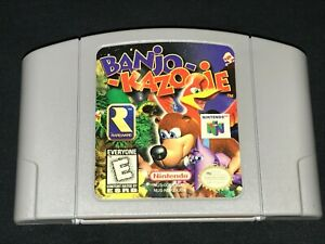 Banjo-Kazooie (Nintendo 64, 1998) Cleaned / Tested / Authentic N64