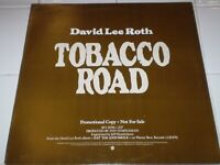 "David Lee Roth Tobacco Road 12"" single 1986 Warner Bros. PROMO PRO-A-2547 b/w sa"