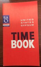 1963-1964 Time book provided by United States Gypsum
