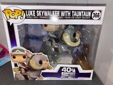 FUNKO POP! STAR WARS 40TH LUKE WITH TAUNTAUN # 366
