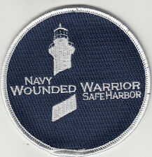 NAVY WOUNDED WARRIOR SAFE HARBOR PATCH