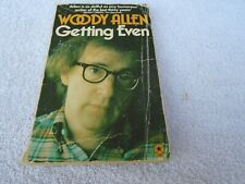 Woody Allen - Getting Even - paperback