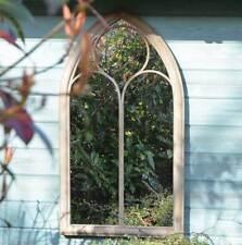 Rustic Home & Garden Outdoor Wall Mirror 3ft8 x 2ft 112cm x 61cm
