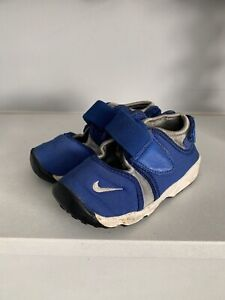 Boys Blue Nike Rift Summer Sandals Size Infant 6.5