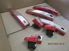 14-17 Chevrolet SS Sedan Holden Commodore Door handles chrome red set