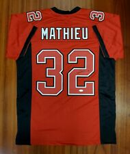 Tyrann Mathieu Autographed Signed Jersey Kansas City Chiefs JSA