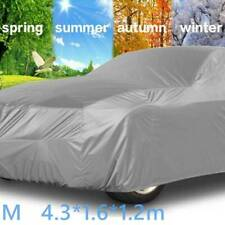 Heavy Duty All Weather UV Protective Waterproof Cotton Lined Car Cover Size4x4XL