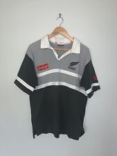 Vintage 90 New Zealand All Blacks Jersey Size Large