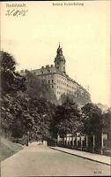 RUDOLSTADT Thüringen AK Schloss Heidecksburg um 1906 alte Postkarte ungelaufen