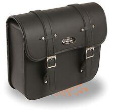 "Straight Cut PVC Swing Arm Bag w/ Interior Gun Pocket for Harley's 13"" x 13"""