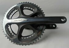 USED Shimano Dura-Ace FC-7900/7950 10-Speed 172.5mm 53/39t Bike Crankset