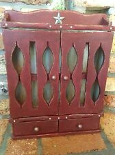 Vintage Spice/ Apothecary Cabinet