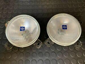 Pair of Car Head Light Hella 002-124 038 (24560 R8) VW Golf 2 II 19E