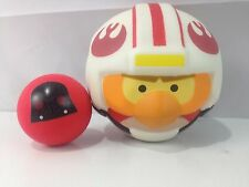 Koosh Angry Birds Star Wars Galactic Empire  Red Darth Vader Ball & X-Wing Pilot