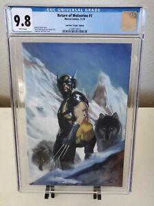 Return of Wolverine #1 Dell'Otto Virgin Variant CGC 9.8 LTD 600