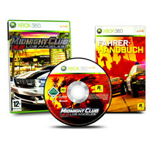 Xbox 360 Jeu Midnight Club Los Angeles Emballage D'Origine avec Manuel